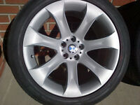 """BMW X5 20"""" New Summer High-Perf. Tires & Factory OEM Rims"""