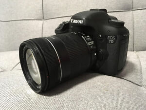Canon EOS 7D Mark I DSLR
