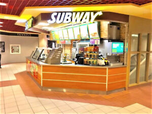 Subway Franchise For Sale in Toronto Downtown Sheraton Food Crt