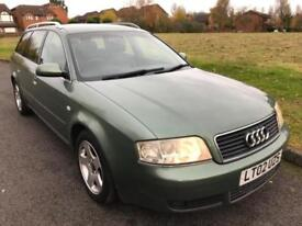 AUDI A6 AVANT 2.5 TURBO DIESEL AUTOMATIC ESTATE (155 BHP) + LEATHER