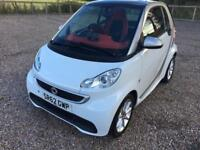2012 Smart Fortwo 1.0 MHD Passion Coupe 2dr Petrol Softouch (98 g/km, 71