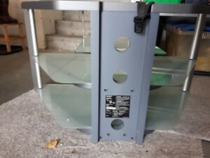 Glass TV STAND    Very good shape  solid