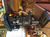 "10"" mastercraft Hawkeye laser drill press with light"
