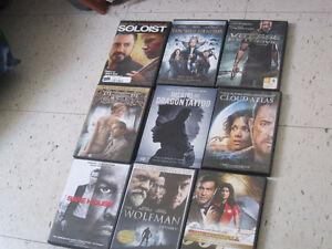 Dvd français, 2.00 chaque ou 3 pour 5.00