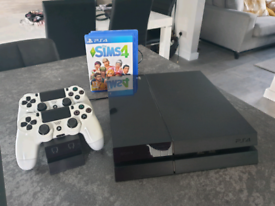 Sony PlayStation 4 with 2 dual shock controllers