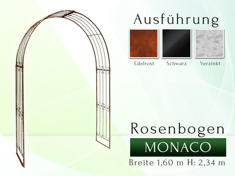 Rosenbogen Metall Pergola Gartenbogen Rosensäule MONACO La Pergola Rose arches