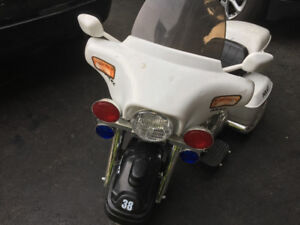 Electric Police Motorcycle