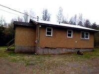 Country home on 1 acre,750/month+elec. heat.30mins from StJohn