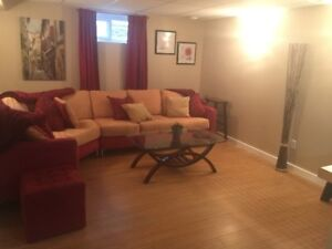 Beautifl furnished suite for rent