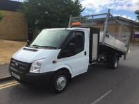 2012 Ford Transit 2.2 TDCi 350 Cage Tail Lift Tipper 123ps Manual Tipper