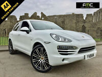 2012 Porsche Cayenne S 3.0TD 245bhp WHITE **Upgraded Alloys - Top Spec - FSH**