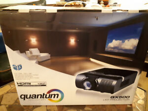 Quantum Projector and Projector Screen-BRAND NEW!