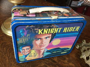 Knight Rider Metal Lunch box 1982