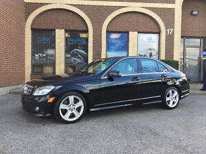 2010 Mercedes-Benz C 300 4matic LOW KM's!!