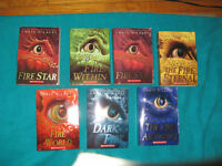 Chris D'Lacey Fire star Books