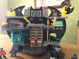 Imaginex Batman - Batcave and accessories
