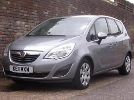 Vauxhall/Opel Meriva 1.7CDTi 16v (130ps) Exclusiv 2011(11) 5 Door MPV