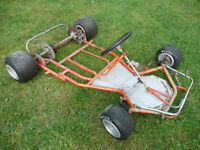 go kart frame or parts