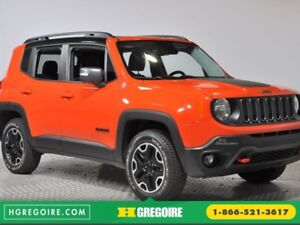 2016 Jeep Renegade Trailhawk 4WD AUTO CUIR TOIT MAGS NAVIGATION