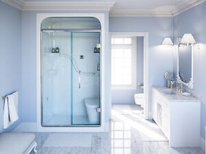 """BRAND NEW BRAND NEW Madison 48"""" 1-Piece Acrylic Shower SEE VIDEO"""