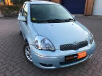 **AUTOMATIC TOYOTA YARIS 2005, 1.3 PETROL, RECENTLY FULLY SERVICED, LONG MOT**