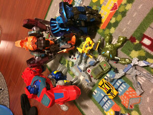 9 transformers toys