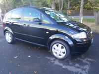 52 Audi A2 1.4 2003MY in black