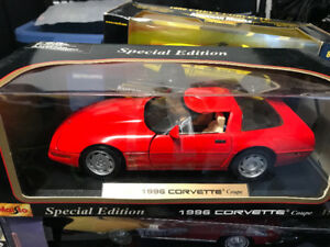 Chevrolet Corvette zr1 1996 diecast 1/18 die cast