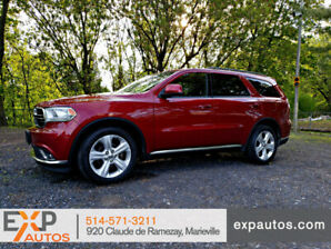 Dodge Durango 2014 SXT 7 passagers