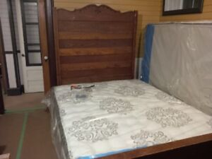 Looking for antique 3/4 wooden headboard