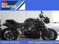 2015 TRIUMPH SPEED TRIPLE 1050 ABS PRISTINE BIKE WITH GENUINE BAR END MIRRORS