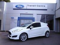 "NEW Ford Fiesta Sport Van, 1.5TDCi 95PS, Frozen White + 17"" Alloys - Onsite"