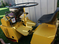 LAWN ROLLER; HONDA BROUWER RIDING LAWN ROLLER