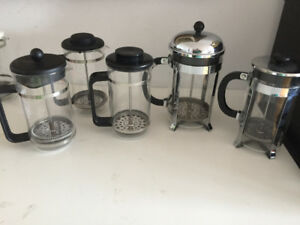 COFFEE BODUMS, COFFEE AND TEA POTS, ACCESSORIES, PACKAGE DEALS