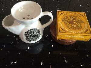 Vulfix-original shaving bowl(new) and Geo. F. Trumpers Soap