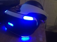 SONY PLAYSTATION VR 1 DAY OLD PRISTINE CONDITION | SONY PLAYSTATION VIRTUAL REALITY HEADSET|