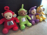 Large teletubbie soft toys