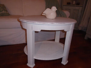 Shabby Chic Matching Coffee and End Tables London Ontario image 2