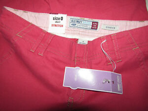 OLD NAVY Pink Stretch Capris Pants - Size 0 - NEW Gatineau Ottawa / Gatineau Area image 5