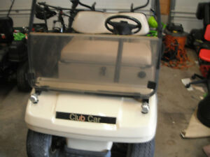 2001 CLUB CAR GAS GOLF CART
