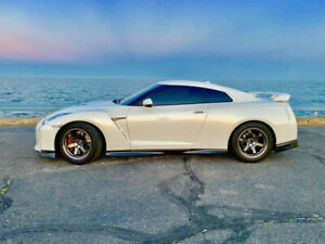 2017 NISSAN GT-R Premium with AMS ALPHA 1500HP
