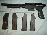 Hammer 7 magfed with 4 mag