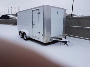 14x7 covered 2014 uilty trailer