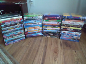 60 Dvd Movies $2 each or $40 for the Lot
