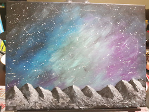 NORTHERN LIGHTS PAINTING ONLY $20