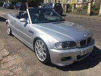 bmw m3 convertible, full service history!