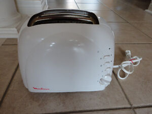 Moulinex two slice toaster white