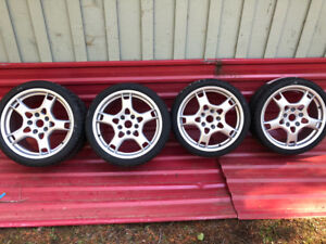 "Porsche 997 Pirelli 19"" winter tires & lobster forks new $4000"