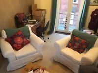 Ikea Ektorp Armchairs