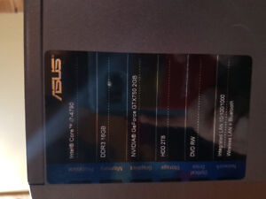 Asus tower and accessories